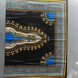 African Dashiki Wax Fabric 6 Yards
